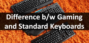 Difference Between A Gaming Keyboard and Standard Keyboard?