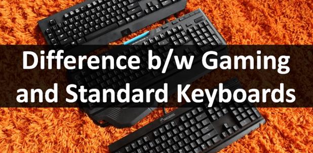 gaming vs standard keyboard