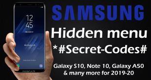 Samsung-secret-codes