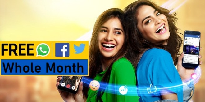 Telenor Free Facebook WhatsApp 4G Internet Social Pack Bundles