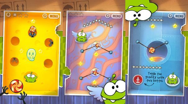 cut-the-rope-android-1 Melhores Jogos Offline para Android de 2011 que valem a pena jogar até hoje!