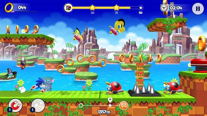 sonic-runners-adventure-android-lancamento-global-1 Sonic 30 anos: relembre os jogos para celular do mascote da SEGA