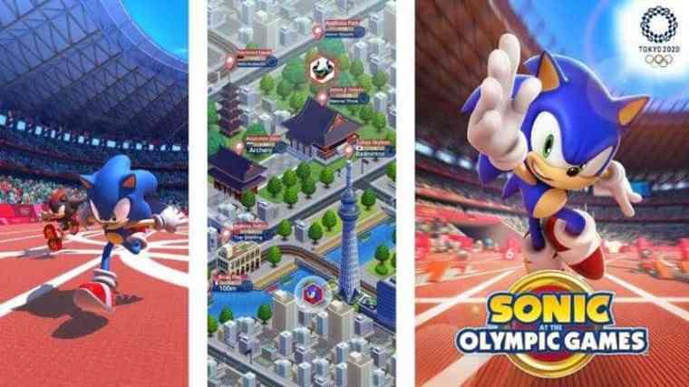 Resultado de imagem para Sonic at the Olympic Games 2020
