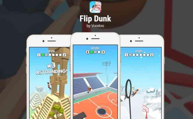 Flip Dunk - Destaques da semana, jogos para mobile de 05 a 11 de agosto