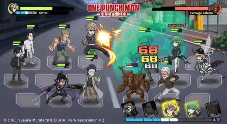 one punch man jogo ios android 1 - Destaques da semana dos jogos para Mobile de 12 a 25 de agosto