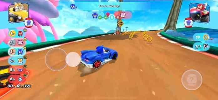 sonic-racing-ios-2 Sonic 30 anos: relembre os jogos para celular do mascote da SEGA