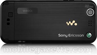 Sony Ericsson W890i back
