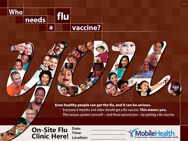 Flu Shot Poster Gallery Mobile Health