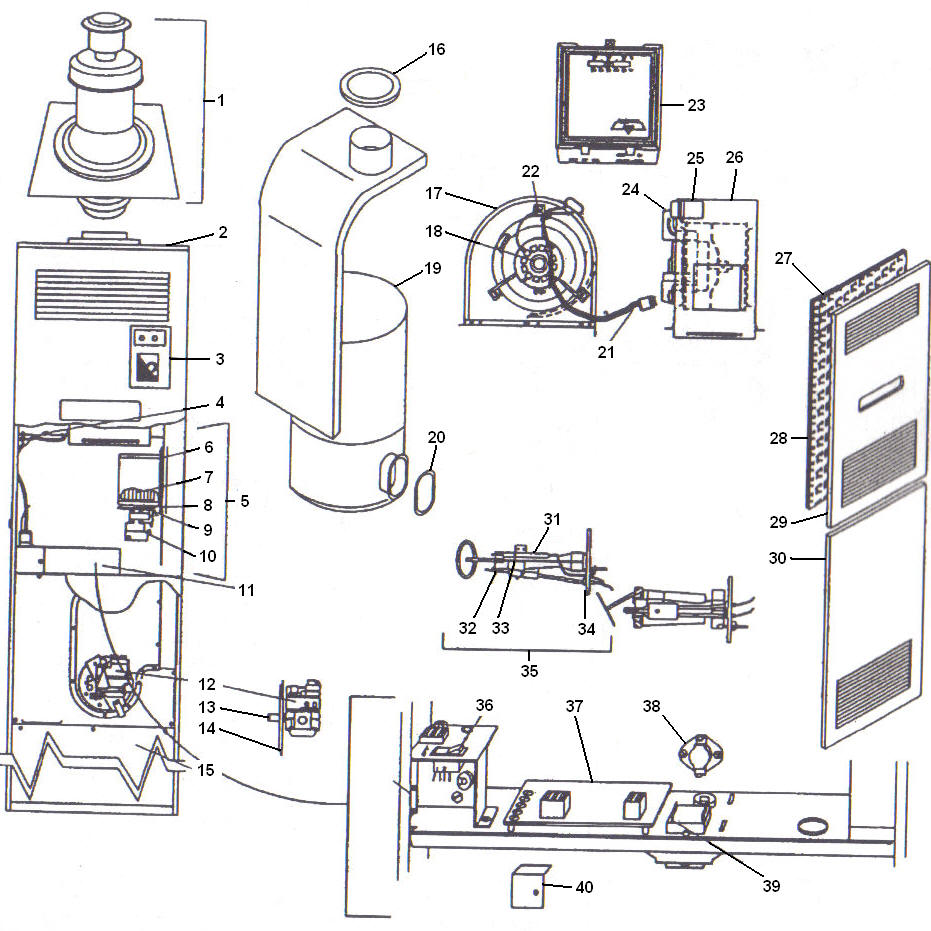 medium resolution of coleman mobile home furnace schematics wire center u2022 at model dgat056bdd coleman evcon gas furnace