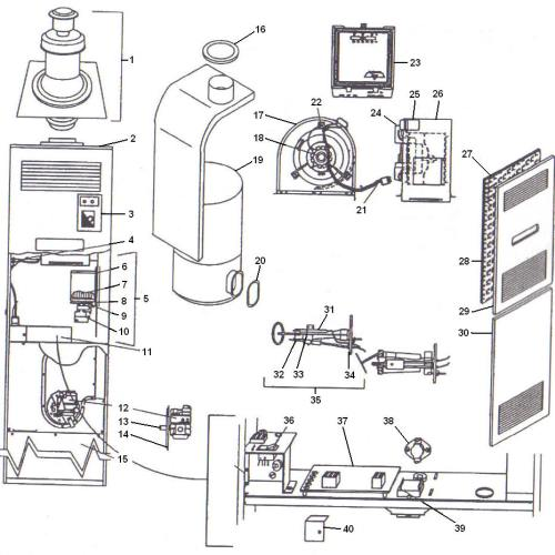 small resolution of coleman mobile home furnace schematics wire center u2022 at model dgat056bdd coleman evcon gas furnace