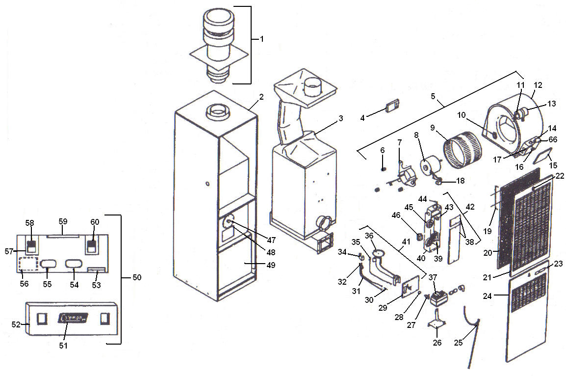 Central Air Mechanical Diagram, Central, Free Engine Image