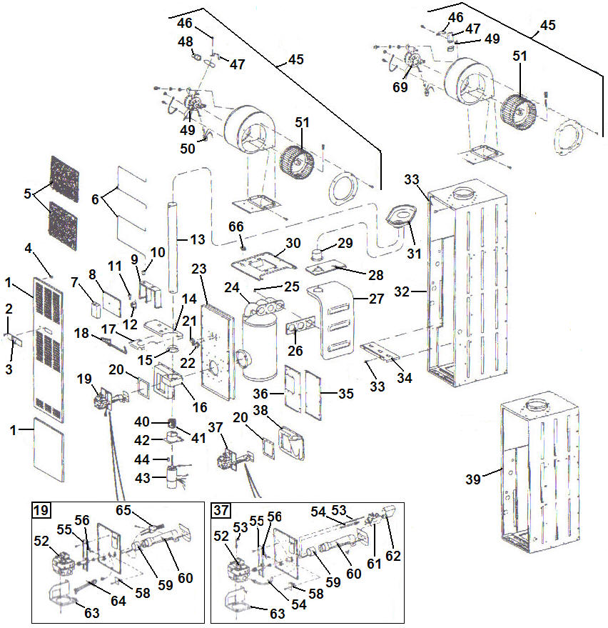 Intertherm Eletric Furnace Parts Diagram
