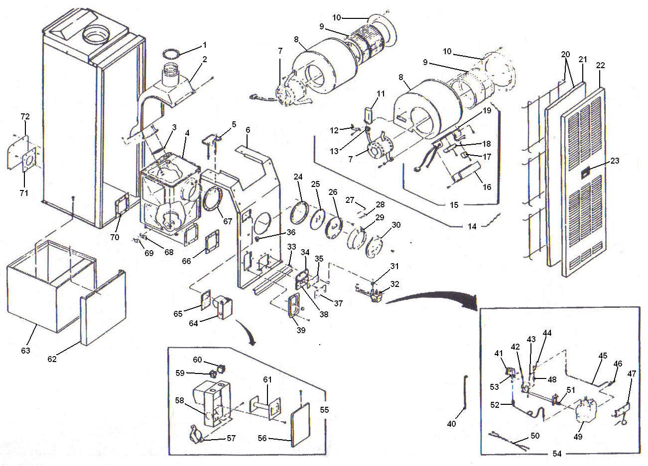 oil furnace parts diagram dell dimension 2400 motherboard miller breakdown pictures to pin on