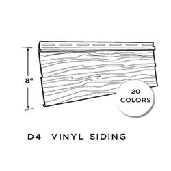 Harbour Crest Vinyl Siding D4