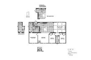 CMH Patriot PAR28563A 3 Bedroom Double Wide For Sale