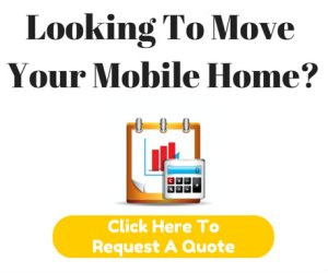 Moving a manufactured home