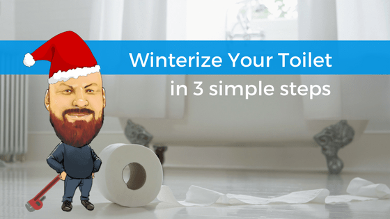 DIY: How To Winterize Your Toilet In 3 Simple Steps
