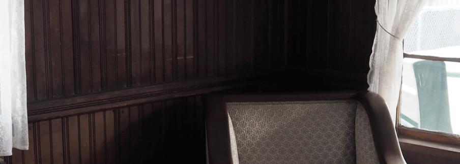 dark paneling