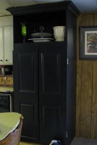 Mobile home kitchen remodel after