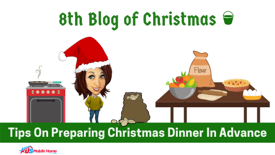 """Featured image for """"8th Blog Of Christmas: Tips On Preparing Christmas Dinner In Advance"""" blog post"""