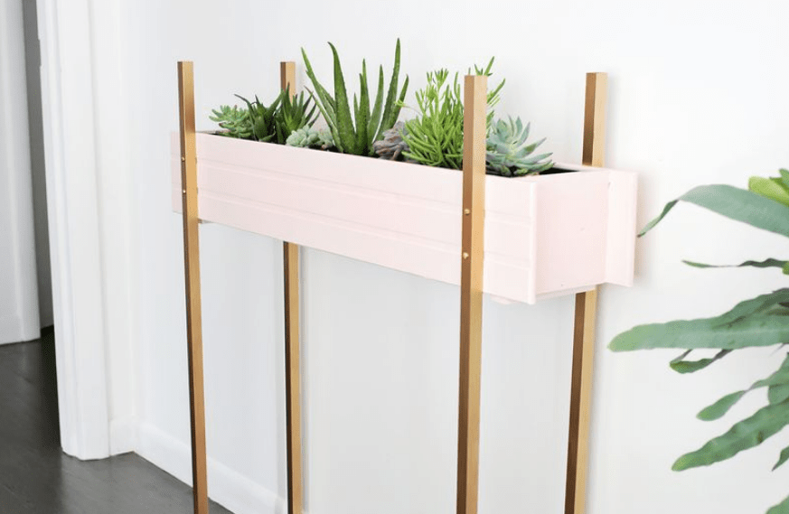 Vertical planter stand