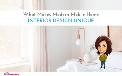 What Makes Modern Mobile Home Interior Design Unique