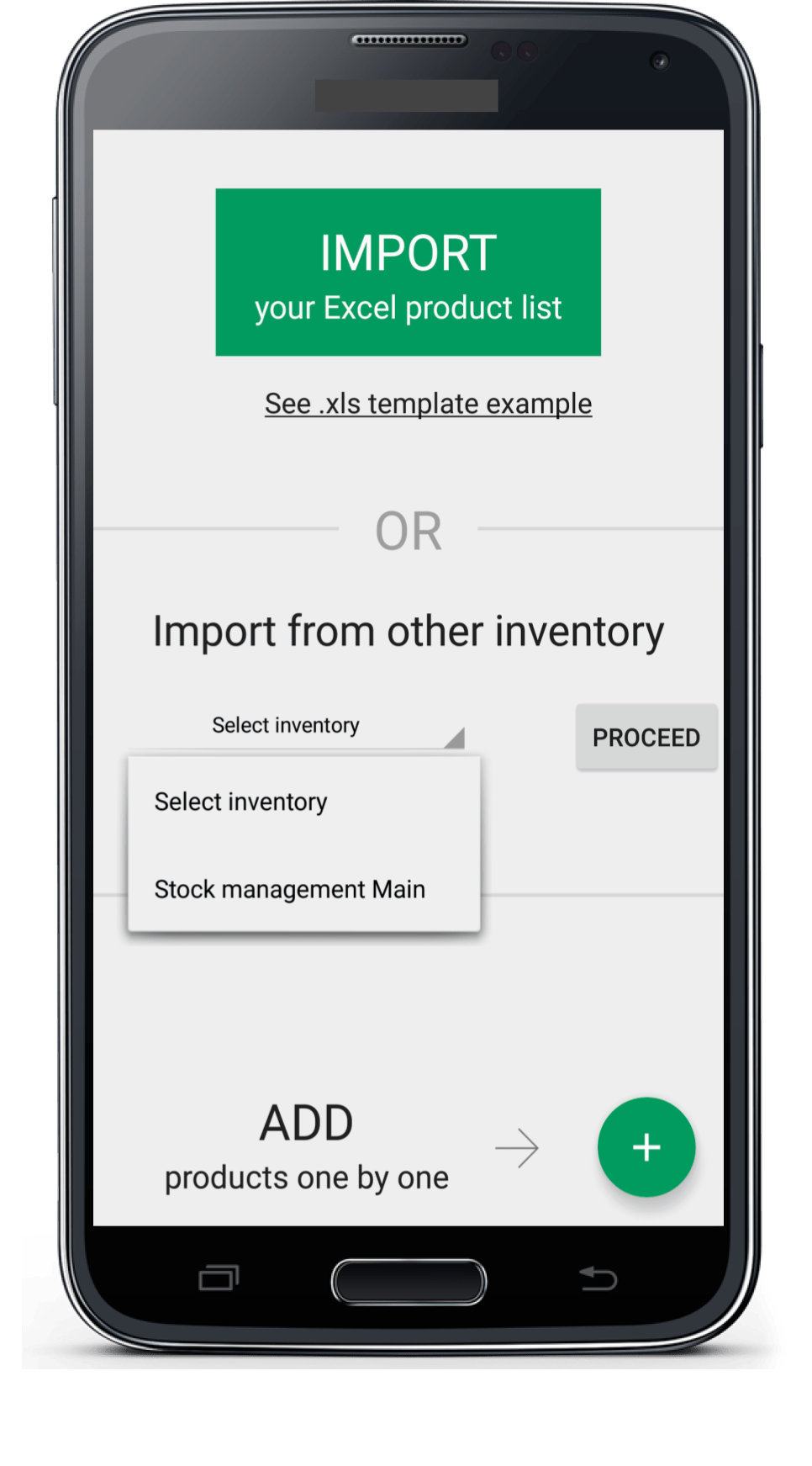 mobile inventory