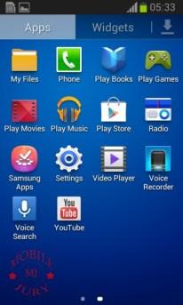 Menu(1)_Samsung Galaxy Star Pro