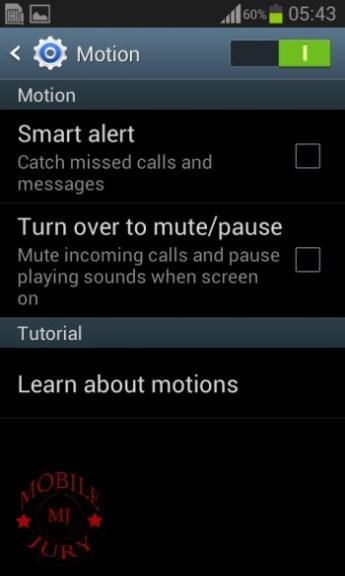 Motion_Samsung Galaxy Star Pro