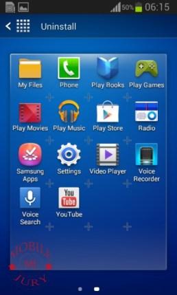 Uninstall Apps_Samsung Galaxy Star Pro
