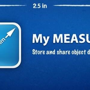 Amazon App des Tages: My Measures heute kostenlos