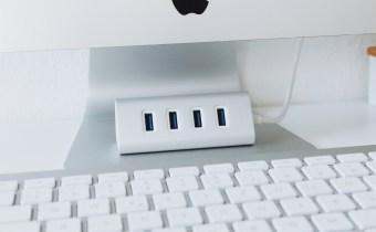 AUKEY 4 Port USB 3.0 Hub Aluminium