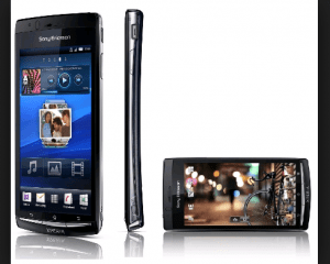 sony Xperia Arc S.