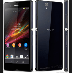 Sony Xperia Z opt