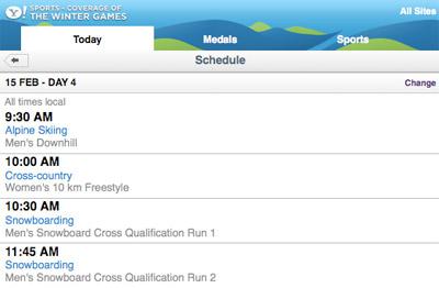 olympics-schedule