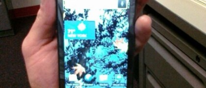 Verizon Motorola Shadow lost at a gym. Photo: CrunchGear