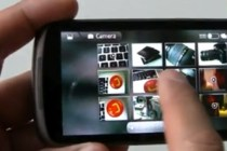 Nexus One photo gallery application demo similar in feel to Gingerbread release