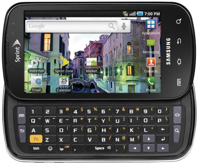 Samsung Epic 4G announced for Sprint