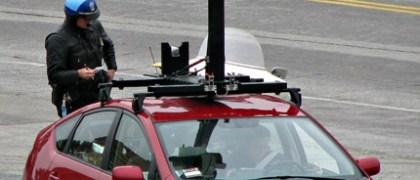 Google Street View vehicle