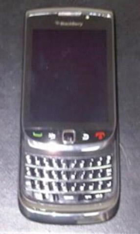 BlackBerry Storm 3 leaked image