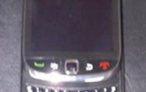 BlackBerry Storm 3 leaked image