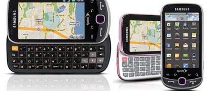 Samsung Intercept Android 2.1 smartphone for Sprint