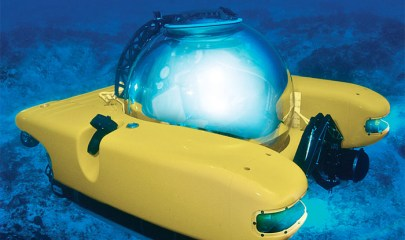 Personal submarine available for $2,000,000 online