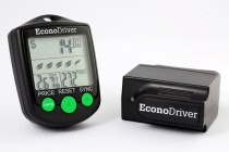 Econodriver Gas Monitor module and key fob from Lemur Monitors
