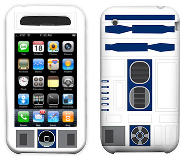 The headless R2-D2 case for the Apple iPhone 3G and 3GS (iPhone 4 model will have a head?)