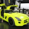 slsamge-cell Mercedes' SLS AMG E-cell Gullwing will be in production for 2013
