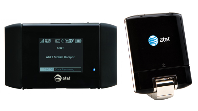 AT&T USB and hotspot