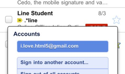 mobile GMAIL
