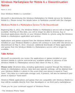windows-mobile-marketplace-shutdown windows-mobile-marketplace-shutdown