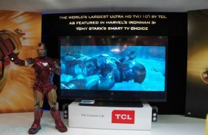 TCL china star 110-inch TV